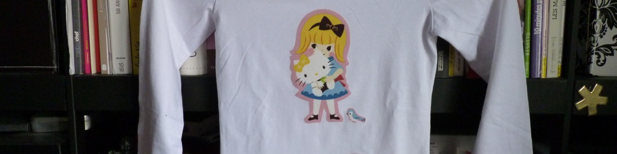 Do It Yourself – T-shirt Hello Kitty