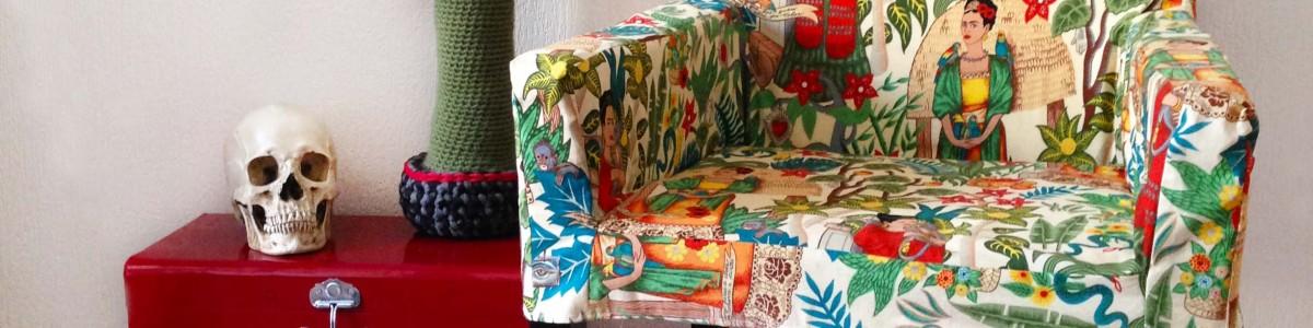 Frida Kahlo – La housse de fauteuil