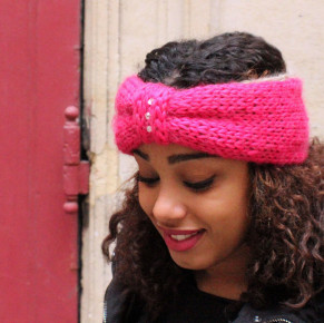 Headband Diamond – Tricot Facile !