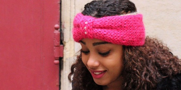 Headband Diamond – Tricot Facile !