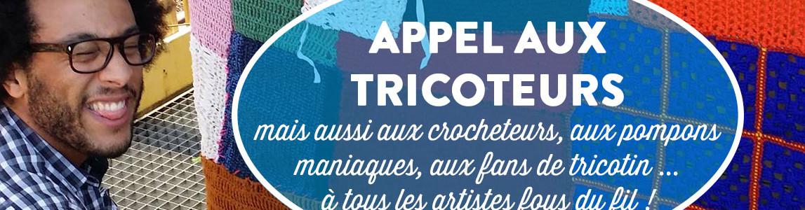 Zak a dit Tricot'Onze ensemble / Yarnbombing Paris 11