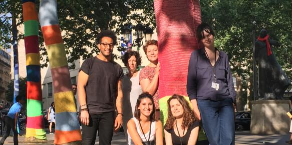 Zak a dit Yarnbombing/ Festival Onze Bouge